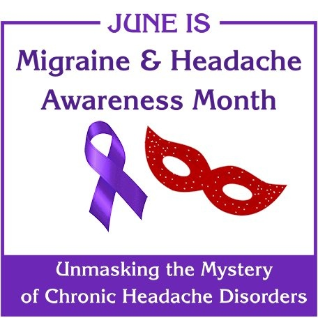 June is Migraine and Headache Awareness Month! – Pain Camp
