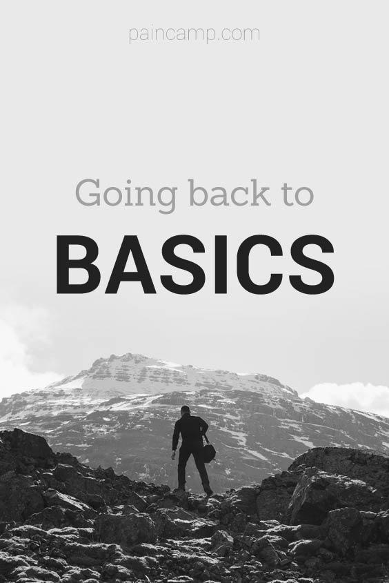 back to basics chronic pain